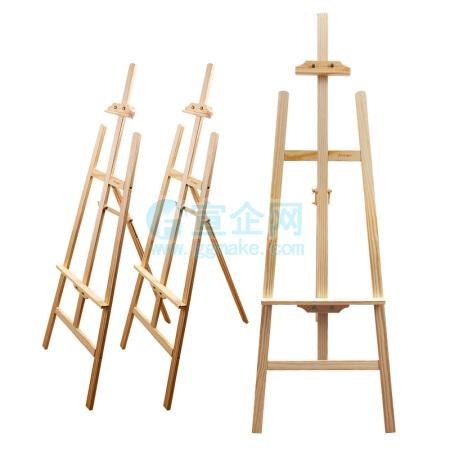 POP架子木质展架KT板架画架